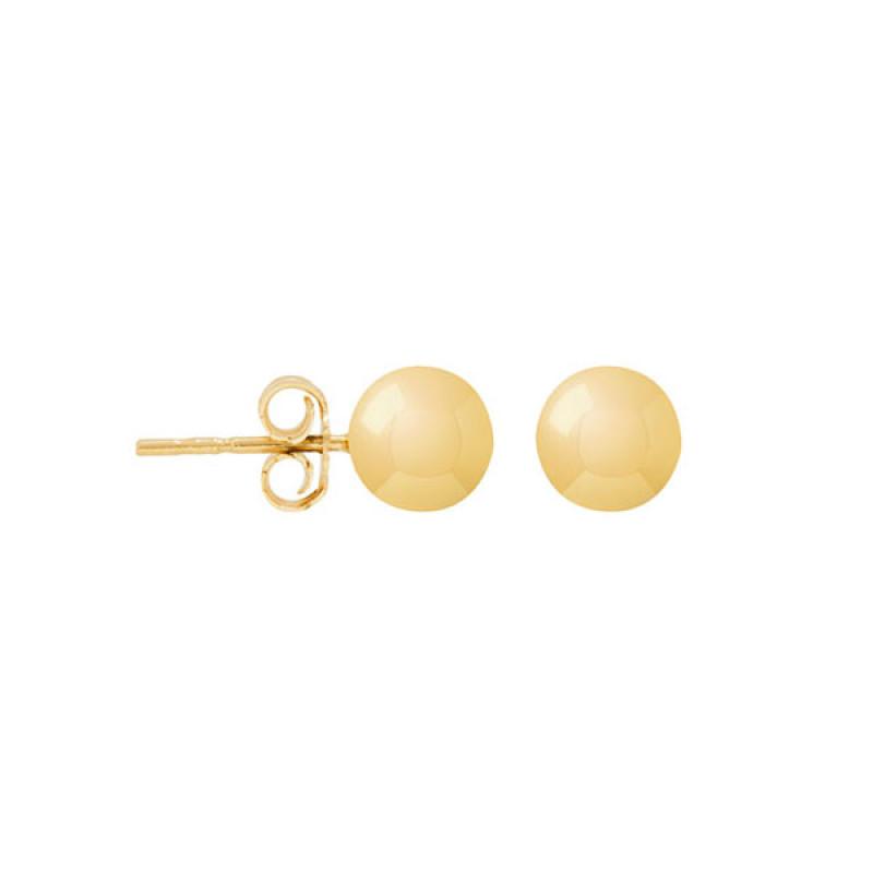 Brinco Bola de Ouro 18k Pequeno 3mm 434d586492